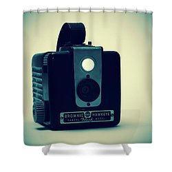 Kodak Brownie Shower Curtain
