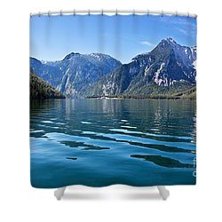 Koenigssee Shower Curtain