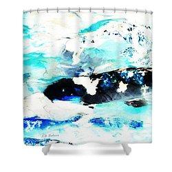 Koi Abstract 2 Shower Curtain