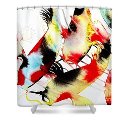 Koi Dance Shower Curtain