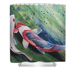 Koi II Shower Curtain