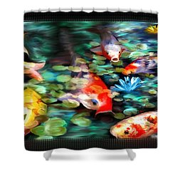Koi Paradise Shower Curtain
