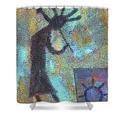 Kokopeli Shower Curtain