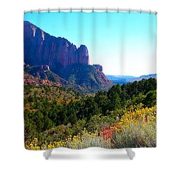 Kolob Canyon Shower Curtain