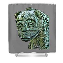 Komainu03 Shower Curtain