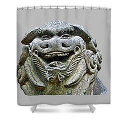 Komainu04 Shower Curtain