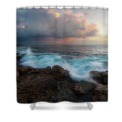 Shower Curtain featuring the photograph Kona Gold by Ryan Manuel