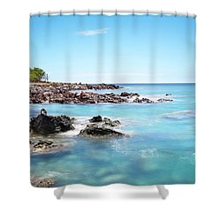 Kona Hawaii Reef Shower Curtain
