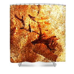 Kondane Deer Shower Curtain