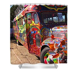 Kool Aid Acid Test Bus Shower Curtain