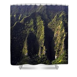 Koolau Range, Oahu Shower Curtain