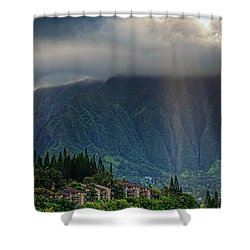 Koolau Sun Rays Shower Curtain