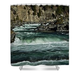 Kootenai Falls, Montana 2 Shower Curtain