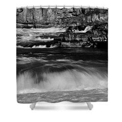 Kootenai Falls, Montana Shower Curtain