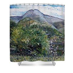 Kopberg Heidelberg Western Cape South Africa Shower Curtain by Enver Larney