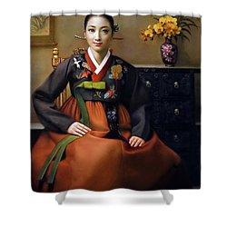 Korea Belle 7 Shower Curtain