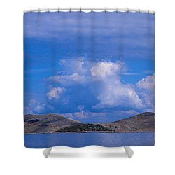 Kornati National Park Shower Curtain by Jouko Lehto