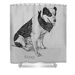 Kosmo Shower Curtain