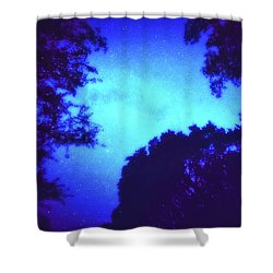 Kosmos Shower Curtain