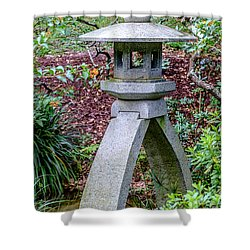 Kotoji Lantern  Shower Curtain