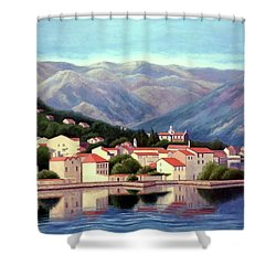 Kotor Montenegro Shower Curtain