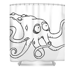 Krake Shower Curtain