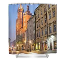 Shower Curtain featuring the photograph Krakow by Juli Scalzi
