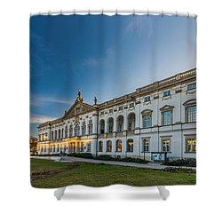 Krasinski Family Palace In Warsaw Shower Curtain