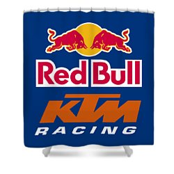 Ktm Factory Racing Shower Curtain
