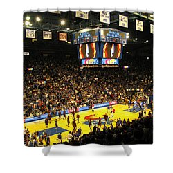 Ku Allen Fieldhouse Shower Curtain by Keith Stokes