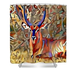 Kudu Shower Curtain