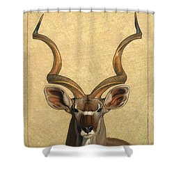 Kudu Shower Curtain