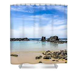 Kukio Shower Curtain by Denise Bird