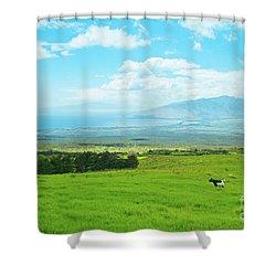 Kula Upcountry Maui Hawaii Shower Curtain by Sharon Mau