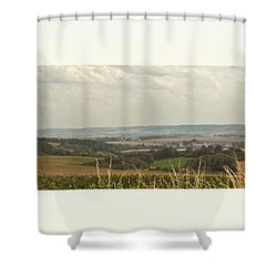 Kurz Vor #hermannsacker... #nordhausen Shower Curtain