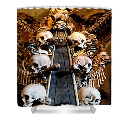 Shower Curtain featuring the photograph Kutna Hora Cz by Michelle Dallocchio