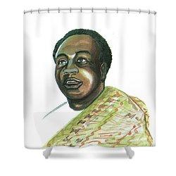 Kwame Nkrumah Shower Curtain