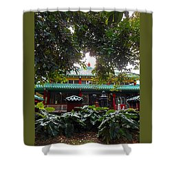 Kwon Yin Temple 4 Shower Curtain