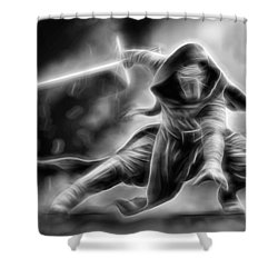 Kylo Ren Nothing Will Stand In Our Way Shower Curtain