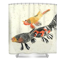 Kyoto Koi Shower Curtain