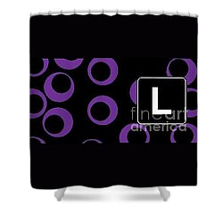 L Shower Curtain