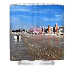 La Baule Shower Curtain