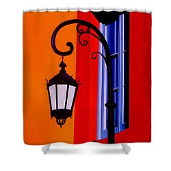 La Boca Cityscape #39 Shower Curtain