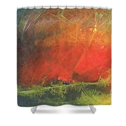 La Caleta Del Diablo Shower Curtain