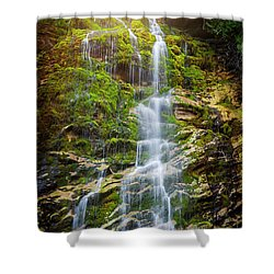 Shower Curtain featuring the photograph La Chute by Elena Elisseeva