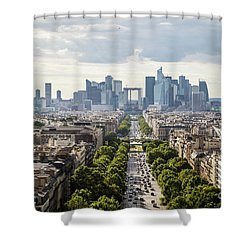 La Defense Paris Shower Curtain