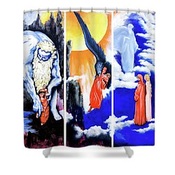 La Divina Commedia Shower Curtain