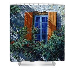 La Finestra E Le Ombre Shower Curtain by Guido Borelli