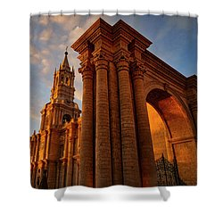 Shower Curtain featuring the photograph La Hora Magia by Skip Hunt