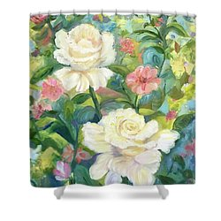 La Jolla Garden Shower Curtain